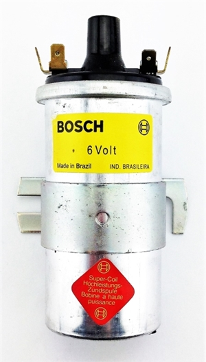 "6V Bosch ""Blue"" Coil (they are Silver now though!) Coil, US Version (0 221 124 001)"