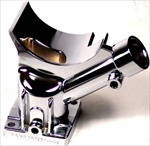 Chrome Alternator Stand/Generator Stand, 12V