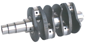 4340 Forged Chromoly Super Race Type 1 Crankshaft, 74mm Stroke, Type 1 Rod Journals, 003-4374VW