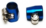 "(2) BRAIDED FITTINGS FOR ECONO SS HOSE 1/2"" ID, BLUE"