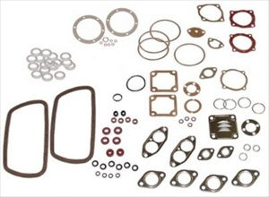 Gasket Set w/Flywheel Seal, 1300/1500/1600cc Engines