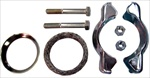 Tail Pipe Clamp Kit (Pea-Shooter Clamp Kit), 1956-74 Type 1, 111-298-051