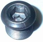 Reverse Light Switch BLANKING PLUG, Goes In Transmission Nose Cone (aka: Gearshift Housing), EACH