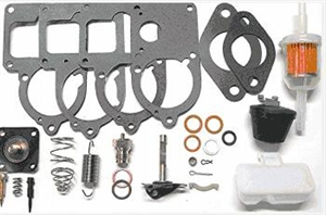 "Carburetor Rebuild Deluxe ""Master"" Kit, for Solex, Brosol and Bocar 28 PICT, 30 PICT, 30/31 PICT, and 34 PICT Carburetors, 113-198-575U"