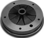 Rear Brake Drum, 5 Lug, 1950-67 VW Beetle and Ghia, Brazilian, 113-501-615DBR