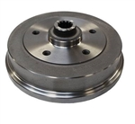 Rear Brake Drum, 5 x 130mm Porsche 5 Lug, 1968-79 VW Beetle and Ghia, German, 113-501-615J_PORSCHE