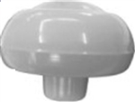 Shift Knob, Gray, 7mm, Fits 1961-67 Beetle and Ghia, 113-711-141AGY-111-141-GY