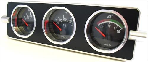 Fast Fab Gauge Mounting Plate Gauge Panel 1958 1967