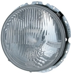 Headlight Assembly With H4 Headlamp, 1967+ Type 1, 1968-79 Type 2, and 1961-74 Type 3, HELLA, 141-941-041