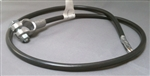 "Battery Cable to Starter, 38"" Long, 1950-79 Beetle and Super Beetle, 1973-74 THING, and 1962-73 Type 3, 1510971-228B-W-2002"