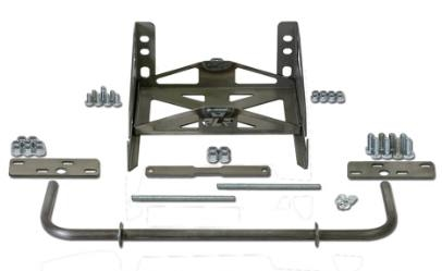 Rlr One Piece Front End Mount Kit With Battery Tray 20