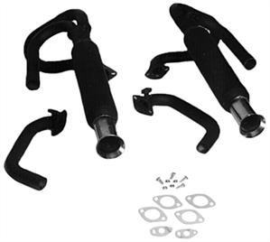 Dual Exhaust System aka: Dual Cannon Exhaust, 2041-2042