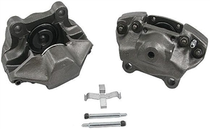 Disc Brake Caliper, Front Left, 1971-73 Type 3, 1971-73 411 and 412, and 1970-71 Porsche 914, 22-03504L