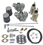 SCAT Dual 35mm PDSIT Solex Carb Kit, Beetle and Bus Dual Port Upright Engines, 30435EC_BUG