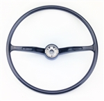 Stock-style Steering Wheel, Wheel Only, Black, 1962-71 Beetle, Super Beetle, Karmann Ghia, and Type 3 , 311-415-651C-BK