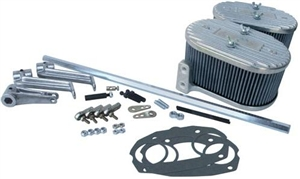 CB Linkage and Air Filter Kit, Weber IDF and Dellorto DRLA, Type 4 Engine, 3129