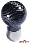 Personal Ball Shift Knob, Carbon Fiber, 16mm and Smaller Shafts