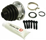 CV Joint Axle BOOT KIT , for Type 1 (BEETLE and GHIA) and Type 3, EUROPEAN, 321-498-201A