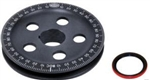"Stock Size Pulley, 5 Hole Sand Seal (Includes Sand Seal), 1.770"" Pulley and 2.260"" Case, BLACK, Laser Etched, 33-1065"