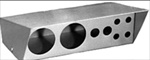 "Gaugebox/Switchbox, 9.75 X 6.5 X 4"", Brushed Aluminum"