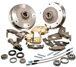 Zero Offset Wide 5 Disc Brake Kit, 1966 Ball Joint Type 1 (Beetle and Ghia), Stock Height Spindles ONLY, 401500