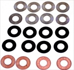 Valvespring Shim Kit, Single Springs, 20 Pieces