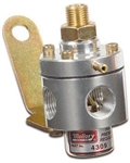 Mallory Adjustable Fuel Pressure Regulator, Carbureted Engines, 3-12psi, 4309