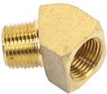 "45 Degree Fitting, 1/4"" NPT Male x 1/4"" NPT Female, Each"