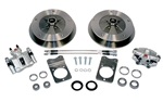 Zero Offset Wide 5 Disc Brake Kit (2nd Generation), 1969-77 Ball Joint Type 1 (Beetle, Ghia, and THING), Stock Height Spindles ONLY, 498550