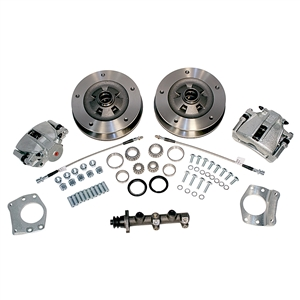 Zero Offset Wide 5 Front Disc Brake Kit, 1968-69 Type 2 (Bus/Kombi), 498570