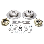 4x130mm Disc Brake Kit, Link Pin Type 1 (1949-65 Beetle and Ghia), Fits Stock Spindles, 498670