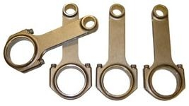 "5.325"" (Porsche Length) H-Beam Connecting Rods, Type 1 Journals, Balanced, Set of 4"