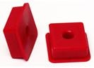 Urethane Shift Coupler Inserts (For Rectangular Shift Coupler), 1965-79 Type 1, 1968-79 Type 2, and 1963-74 Type 3, Pair, 5548-10 and 5548-10-BL