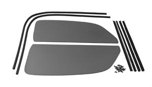 1 Piece Window Kit, Snap In Seals, 1965-77 Beetle Sedan, TINTED