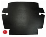 Trunk Liner Kit (Trunk Hardboards), Beetle to 1967