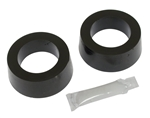 "Urethane Spring Plate Grommet, SOFT, 1 7/8"" ID Knobby, Pair"