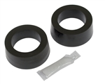 "Urethane Spring Plate Grommet, SOFT, Small 1 7/8"" ID Knobby, Pair"