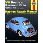 Hayne's 1954-79 Beetle and Ghia VW Repair Manual
