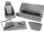 Scat Procar Rally VW Interior Kit, for Karmann Ghia Sedan and Convertible, VELOUR