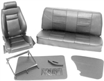 Scat Procar Elite VW Interior Kit, for Karmann Ghia Sedan and Convertible, VELOUR and COMBO