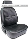 Scat Procar Pro-90 Reclining Seat, With Headrest, Right, Vinyl or Velour, EACH, 80-1300