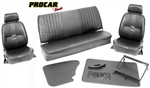 Scat Procar Pro-90 With Headrest VW Interior Kit, for CONVERTIBLE Beetle/SuperBeetle, VELOUR