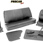 Scat Procar Pro-90 Low back VW Interior Kit, for Beetle or Super Beetle Sedan, VINYL