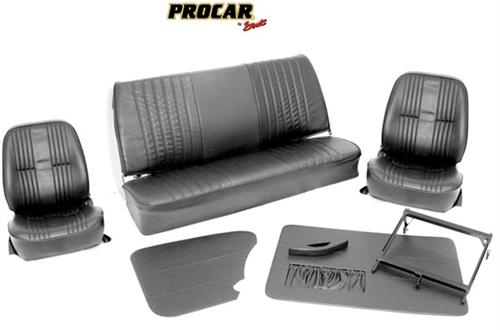 Scat Procar Pro-90 Low back VW Interior Kit, for SEDAN Beetle/SuperBeetle, VINYL - Aircooled.Net ...