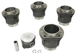 STROKER Piston & Cylinder Set, 85.5mm x 82mm Cast, Type 1