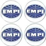 EMPI Center Cap Wheel Badges, Set of 4, 9814