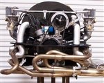 A-1 Performance Sidewinder Merged Racing HEADER (Muffler NOT included), Slip-In J-Pipes (No Heater Boxes)