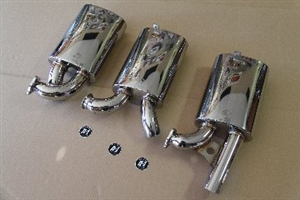 A-1 Performance Sidewinder MUFFLER, Out The Back Tailpipe, Fits SW112-SW158-SW134 Header, VW Bug and Super Beetle, and Type 2 to 1967