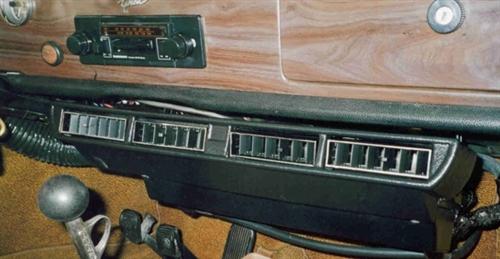 Air Conditioner Kit 1958 74 Karmann Ghia Black Textured