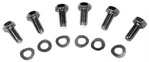 HD Clutch Bolt Kit (Pressure Plate Bolts and Washers), Set of 6